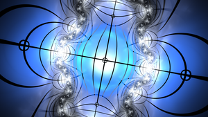 Crosshaired Julian - Fractal Art by CMWVisualArts