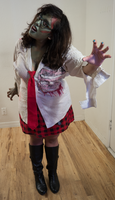 Zombie School Girl 24 by Angelic-Obscura