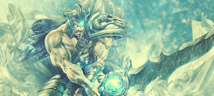 League of Legends - Tryndamere by RagingMarshmellow