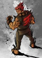 Akuma - Street Fighter 4 Style by PoucasTrancas