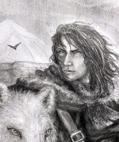 Jon Snow by SaBenerica