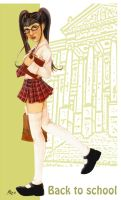 Back to school by MIRITA by ThePin-upGallery