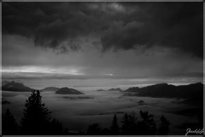 Fog and Clouds by deaconfrost78