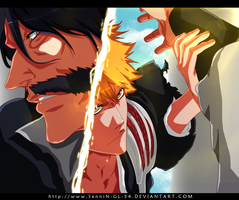 ichigo vs j bach bleach 618 by SenniN-GL-54