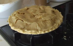 Apple Pie ready to bake by dtf-stock