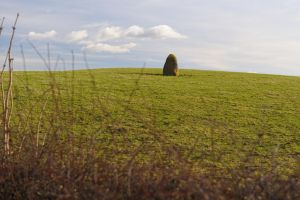 Unmarked Standing Stone by WestLothian