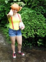 misty cosplay again by Jade07Fun