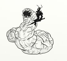 Joust Prize-Death Worm by Scatha-the-Worm