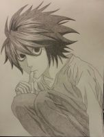 L Lawliet by SerinaSpichtig