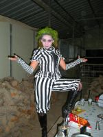 Girl Beetlejuice costume by lolicaor805