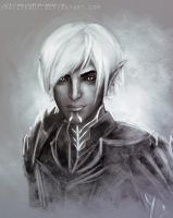 Dragon age 2 - Fenris by Smilika