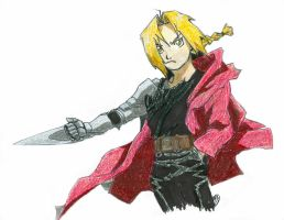 Ed Elric by Skyfurrow