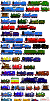 My ThomasNFriends Sprite Sheet by RiverStationStudios