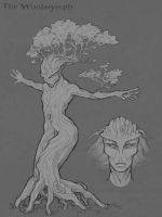 The Dryad by LhuneArt