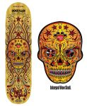Sugar Skull Music Design Deck version2 by reyjdesigns