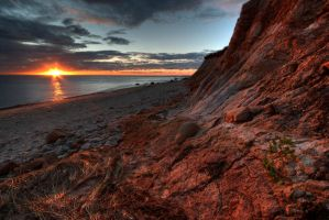 Aquinnah Bluff by onejumpjohnny