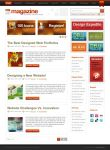 Magazine Theme by dellustrations