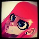 Pink Haired Instagram by Zatransis
