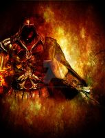 Ezio On Fire by ConflictEmpire