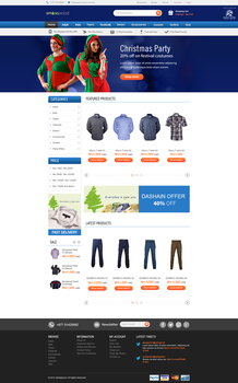 SpringwoodEcommerce Homepage by prithu