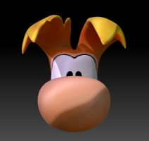 Rayman Head Close up 02 by sav8197
