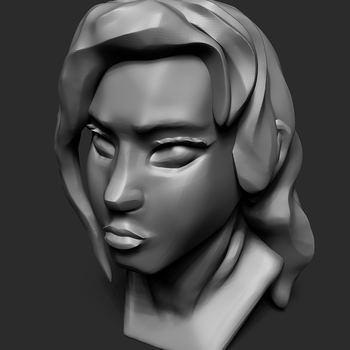 [Dec.13.16] ZBrush 2nd head by scarletfame