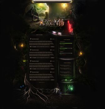 Azeroth - Game Design for MMO by MsqrdPS