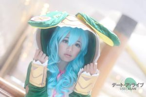 Yoshino cosplay by kurotoshiro31
