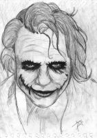 The Joker by JackFrostBlack