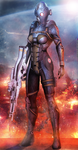 Mass Effect 3 Cerberus Nemesis (2014) by RedLineR91