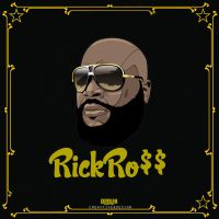 RickRoss BlackAndYellow by DemircanGraphic