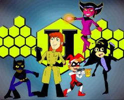 Teen Titans Go Style Hive Tribe by KiteBoy1