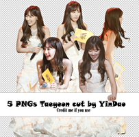 Pack PNG #3 - Taeyeon by YinDao