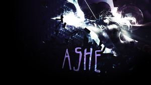 Ashe Wallpaper by Gigy1996