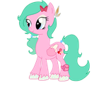 MLP new OC, Mintcream by lpsmonstermlphigh
