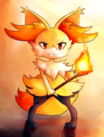 Braixen by WendySakana