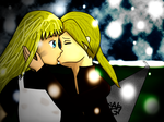 Contest Entries:  OTP/First Kiss by AmyNChan