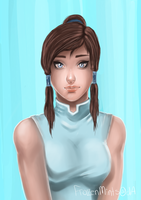 Korra by lonehuntress
