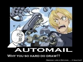 Ed's Automail (Why u...) by DarkRose-chan