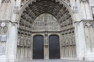 Cathedral Doors by Qrinta