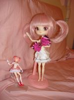 Madoka DAL (magical girl outfit) WIP skirt by Gubreez
