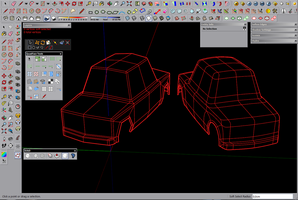 Sketchup Quad Face Modeling and Subdivision by 600v