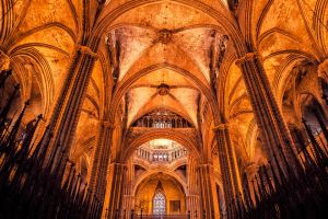 Cathedral of Barcelona by hessbeck-fotografix