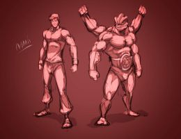 Fighters Sketch by Namh