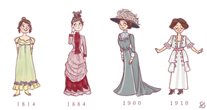 Fashion history by Taru-Sama