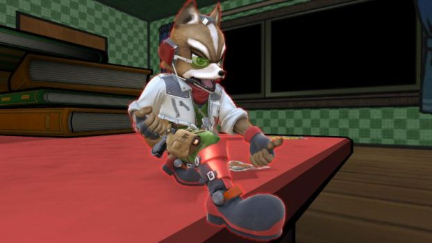 Fox McCloud: Come on. by user15432