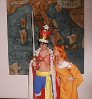 Luffy and Nami Cosplay - One Piece Cap. 699 by NamiTheQueen13