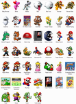 Super Mario NES Windows Icons by sjg2008