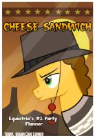 Cheese Sandwich Poster by Toxic-Mario