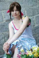 Aerith the flower girl by Narayu